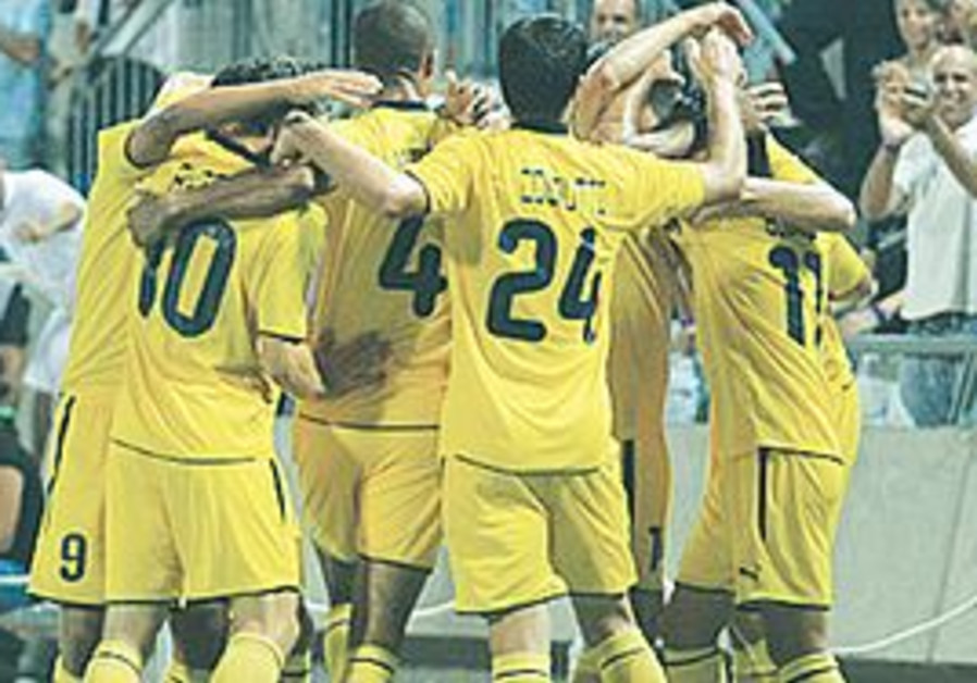 Maccabi Tel Aviv soccer football team