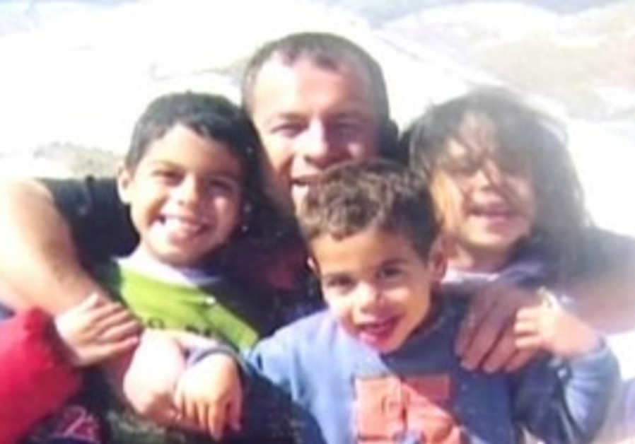 Itai Ben Dror and his 3 chidren who he confessed to murdering