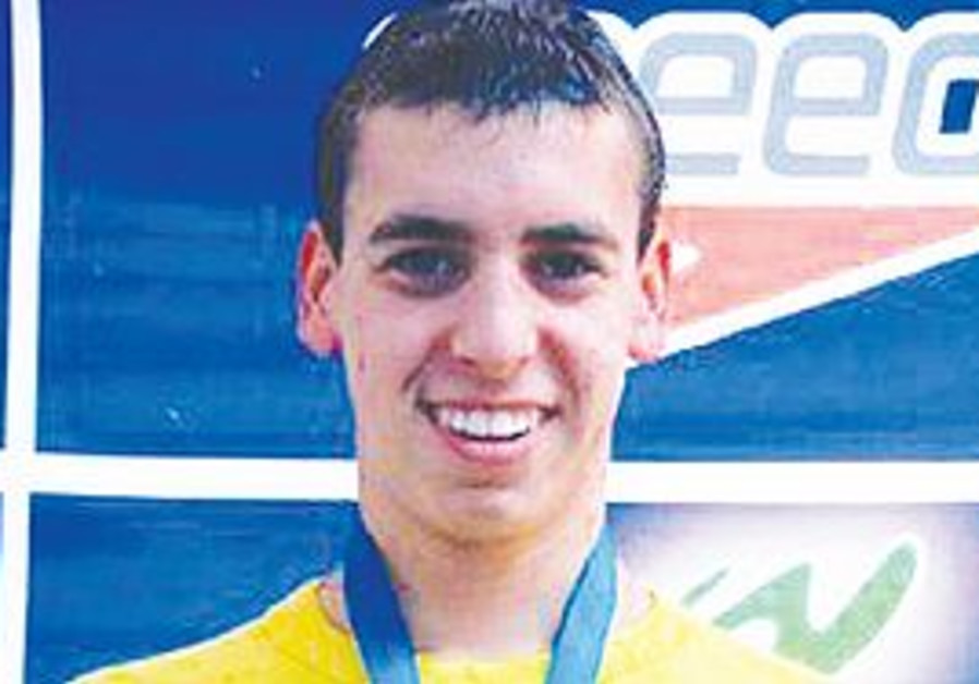 SIXTEEN-YEAR-OLD Tom Kremer impressed at the national swimming championships at the Wingate Institut