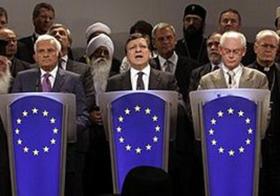 EU media conference in Brussels