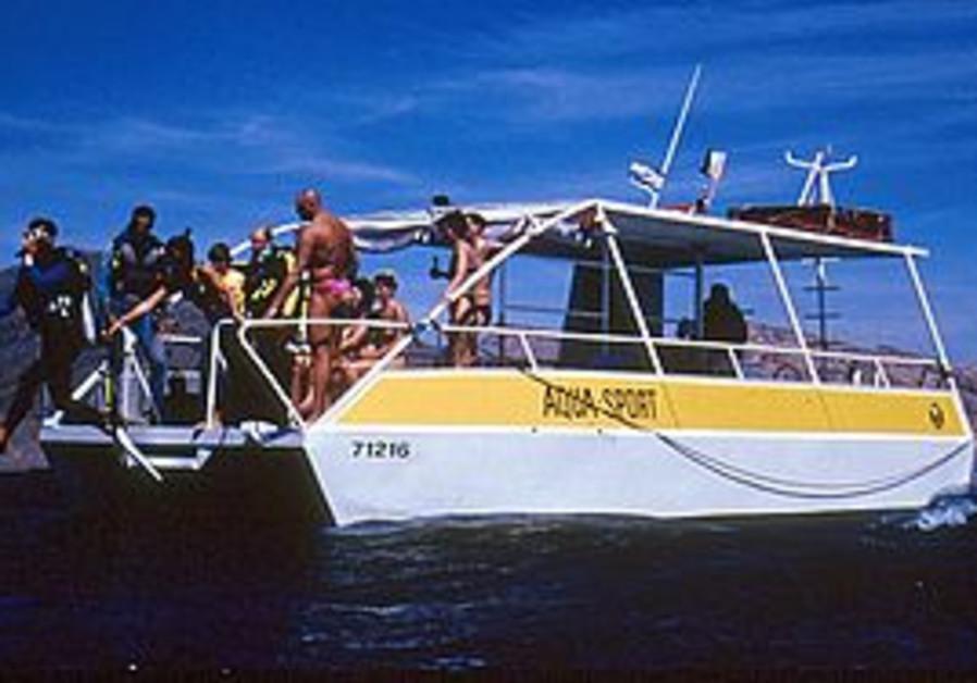 An Aqua Sport dive boat