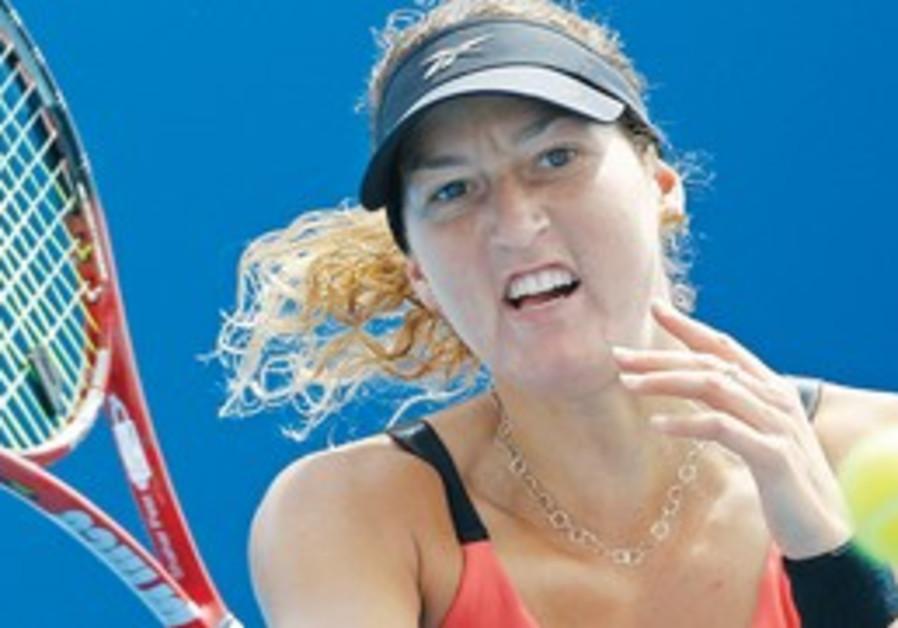 Israeli tennis player Shahar Peer.