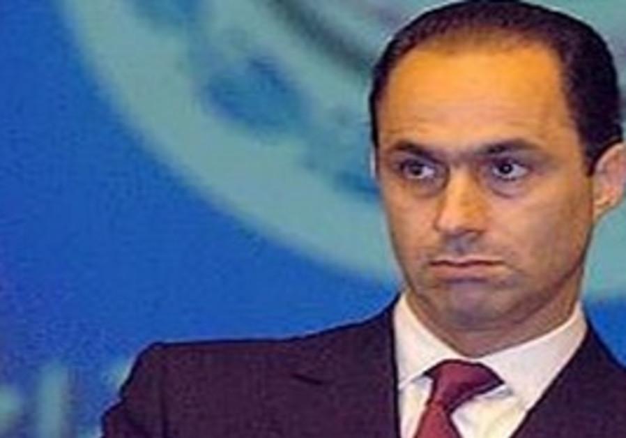 Gamal Mubarak, son of Egyptian President Hosni Mubarak
