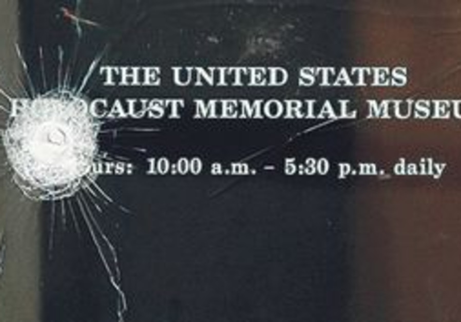 THE MURDER of a guard at the US Holocaust Memorial Museum in Washington, DC, last June is one of the