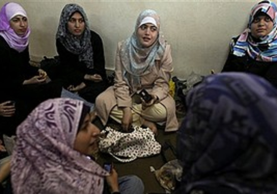 Palestinian women in Gaza