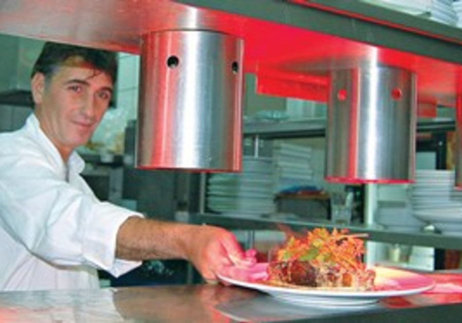 Ram Yedid. 'When you are a chef, you always study.'