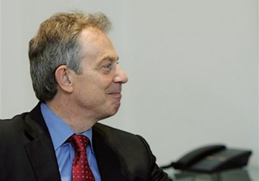 Israel urges Blair to spurn Hamas