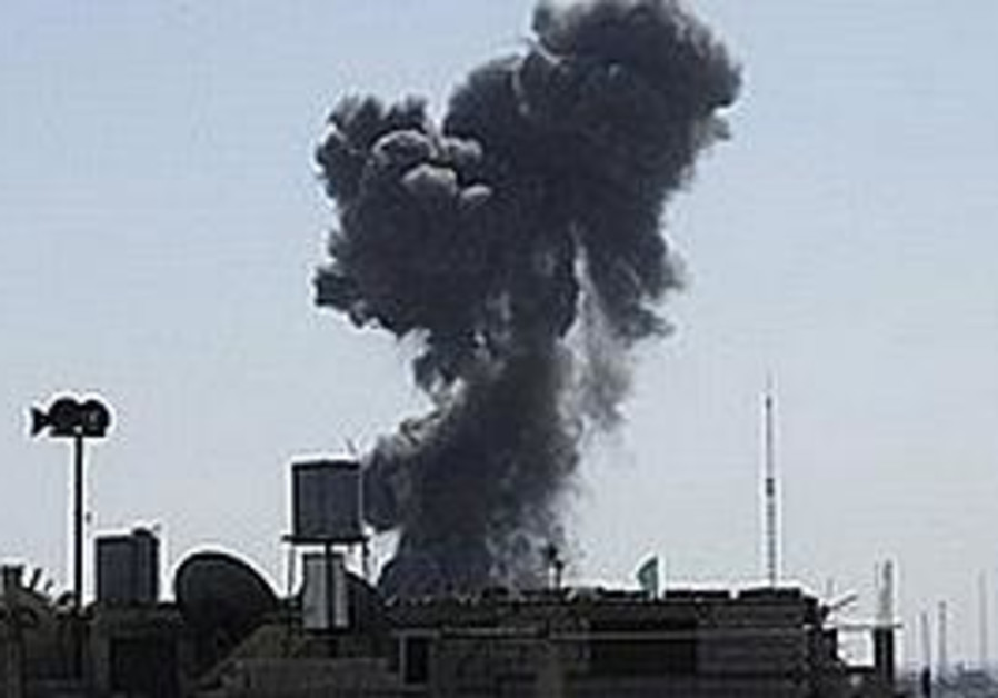 Gaza strike [file photo]