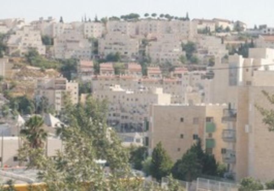 The Jerusalem neighborhood of Pisgat Ze'ev.