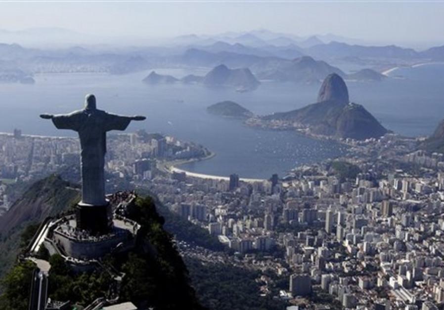 Statue of Jesus in Rio de Janiero