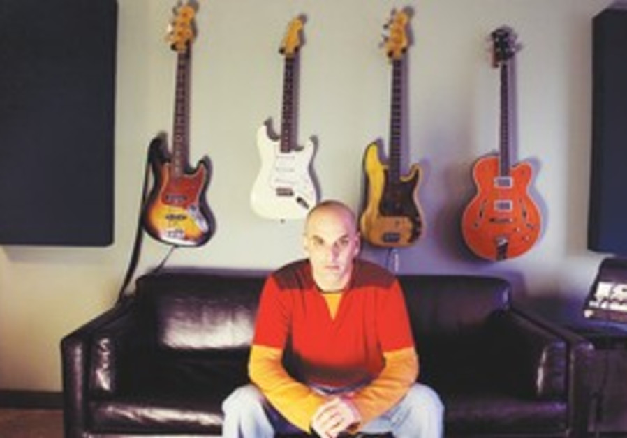 ENJOYING THE PROCESS: Guy Erez at his Los Angeles studio.