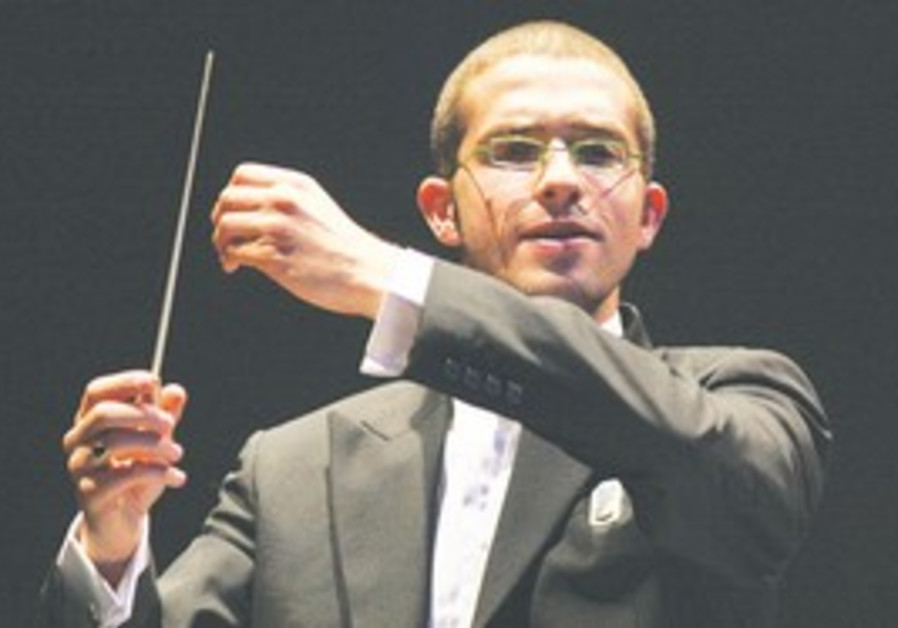 OMER WELBER, only 28, has devoted the whole of his young musical career to the RSO.