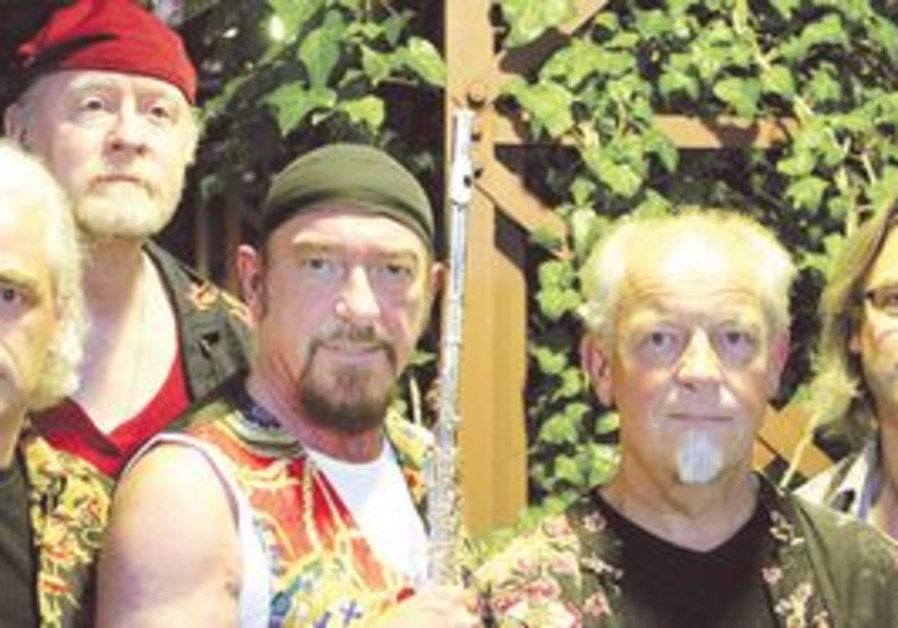 THE BOYS of Jethro Tull are back in Israel for a three-stop tour.