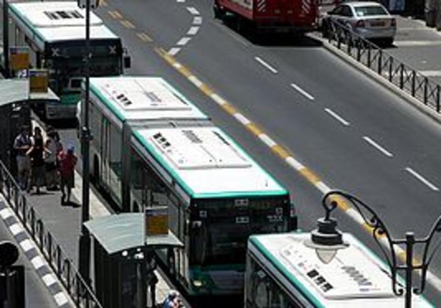 Egged Buses in Jerusalem