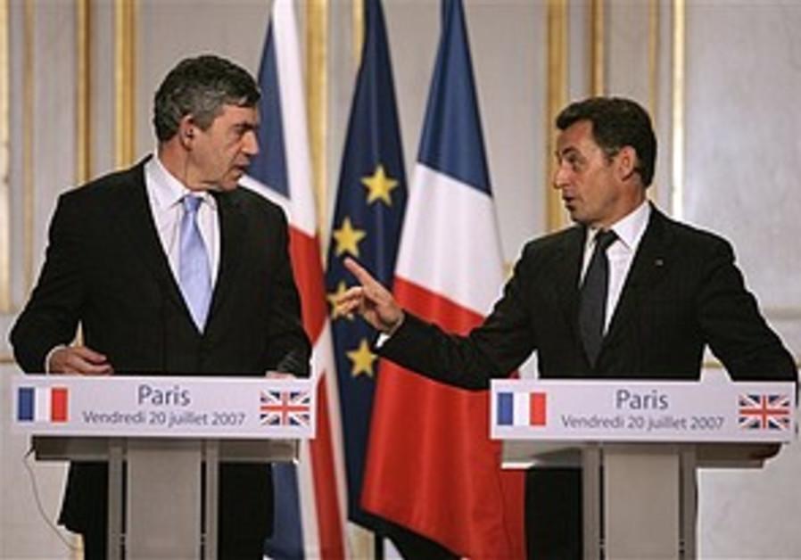 Brown, Sarkozy to lobby UN on Darfur