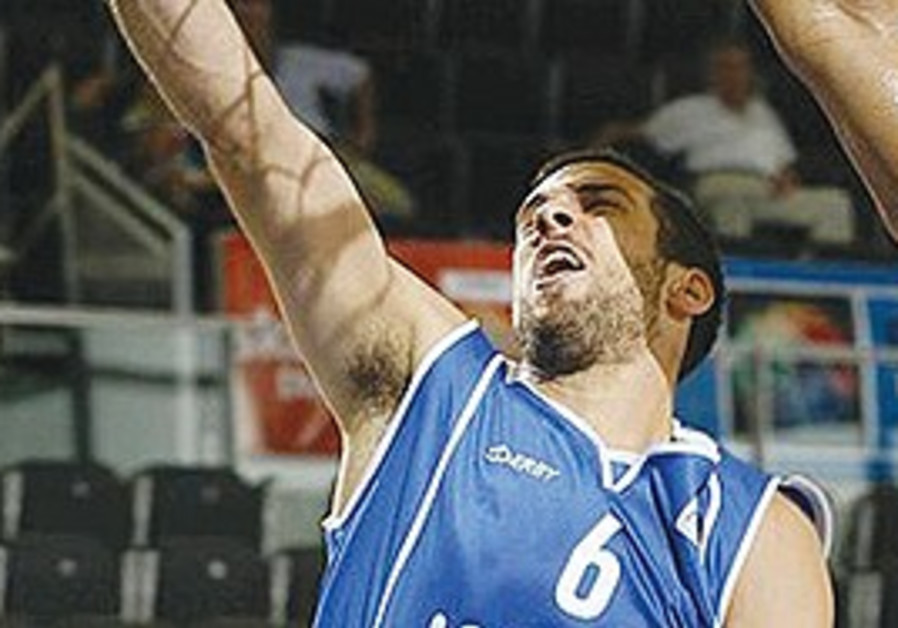 YOTAM HALPERIN scored a team-high 16 points in Israel's 79-71 over Italy last week in its first Grou