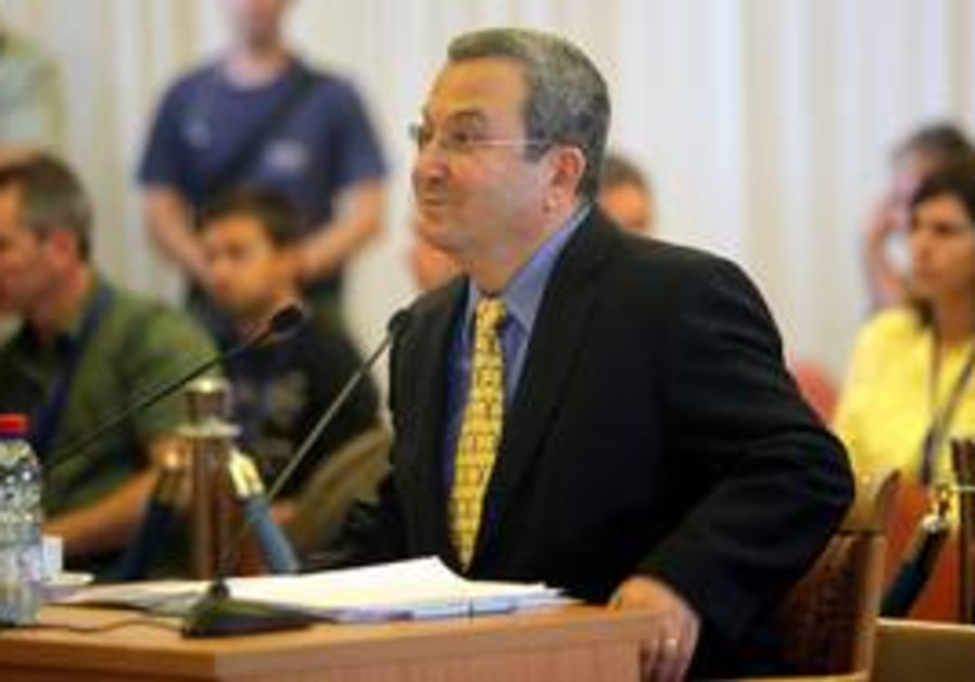 Barak at Turkel Committee