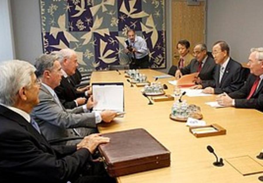 UN Gaza flotilla panel members meet