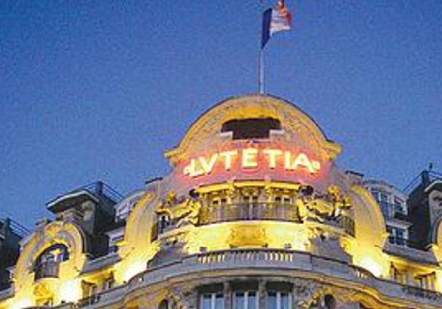 The Lutetia Hotel in Paris