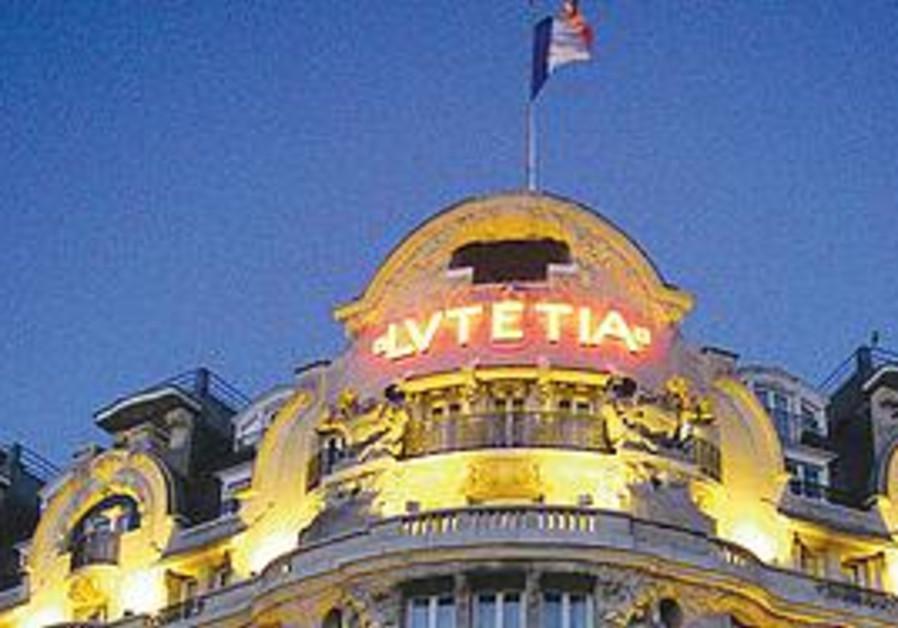 The Lutetia Hotel in Paris