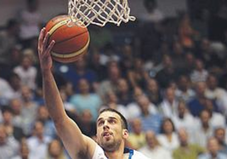 Yotam Halperin has averaged 17.0 points in his team's first two EuroBasket 2011 qualifiers