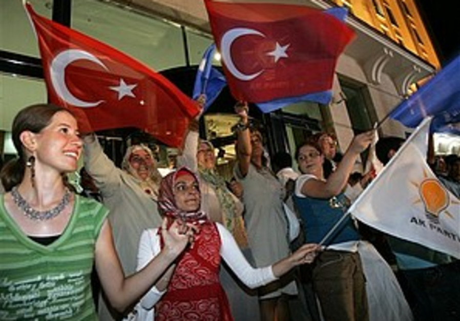 Turkey leads toward democracy