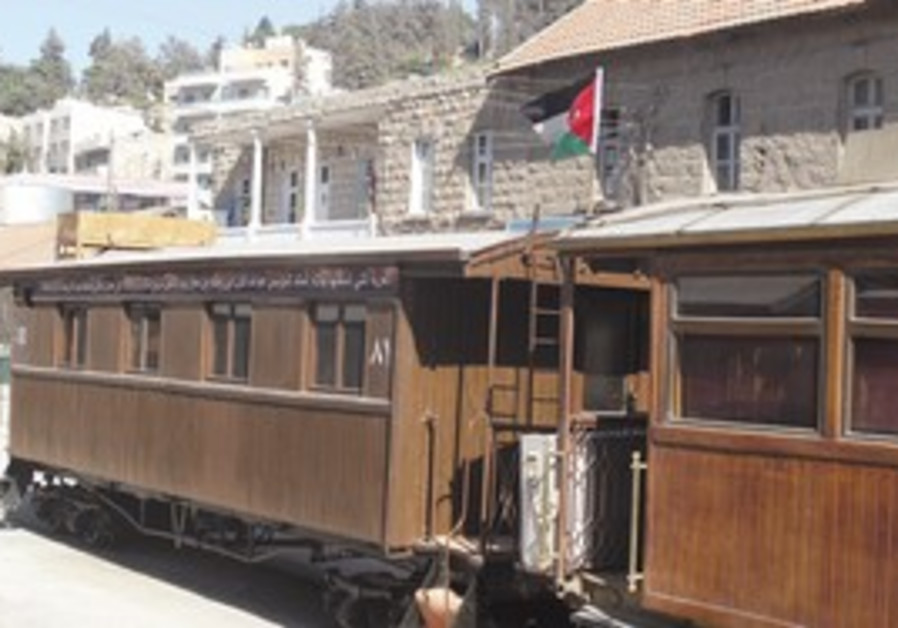 THE HISTORIC Hejaz Railway car with which the late Emir Abdullah (who later became King Abdullah I)