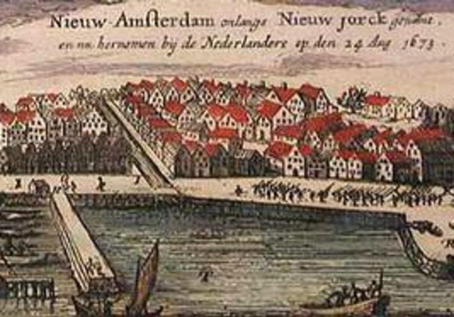 New Amsterdam in 1673