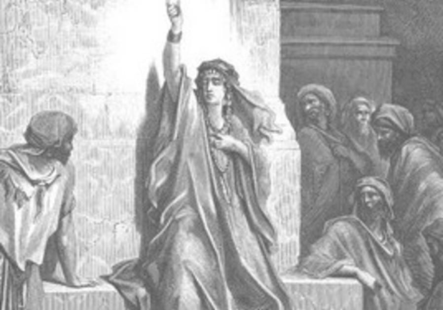 DEBORAH WAS a judge in Israel.