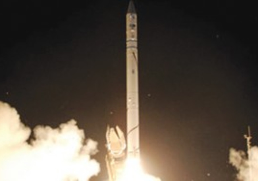 The Ofek 9 satellite is one of the 'mini satellites' that are Israel's specialty.