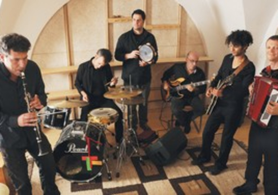 SEVEN-MAN band AndraLaMoussia has its heart set on tradition and its sound set on the future.