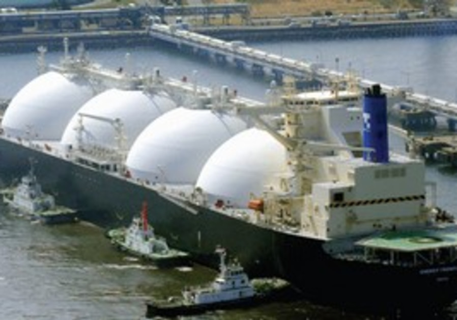 LIQUID GAS: If there is sufficient gas in Israel's Leviathan field for export, it will need to be co
