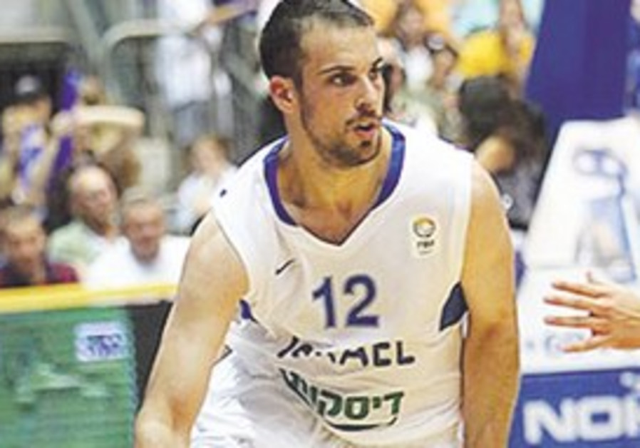 YOTAM HALPERIN scored a team-high 16 points when Israel beat Italy in Bari on August 2.