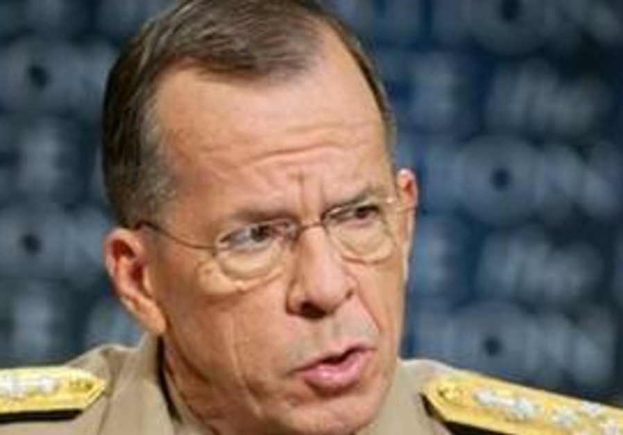 In this Sunday Aug. 1, 2010, photo released by CBS, Adm. Michael Mullen, Chairman of the Joint Chief