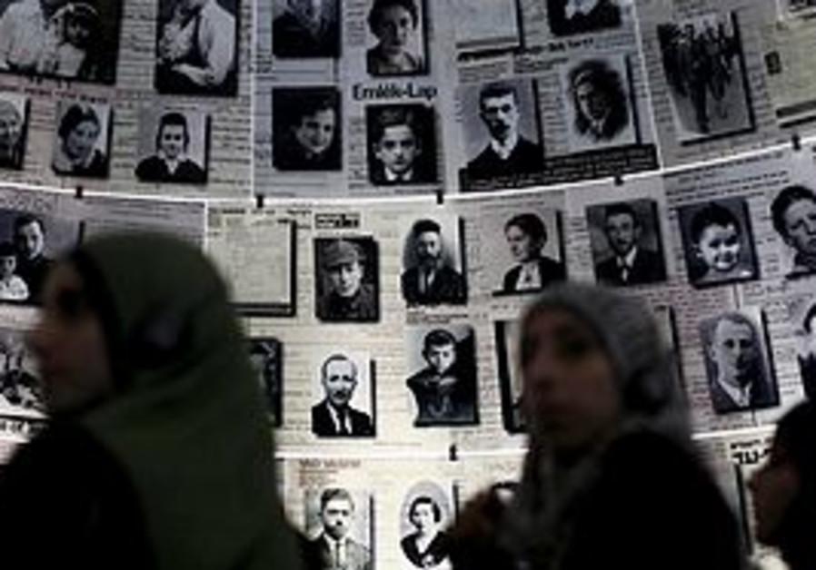 Palestinians visit Yad Vashem