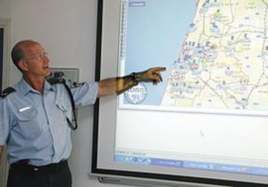 Nir Meriesh, in charge of technology development in the Israel Police.