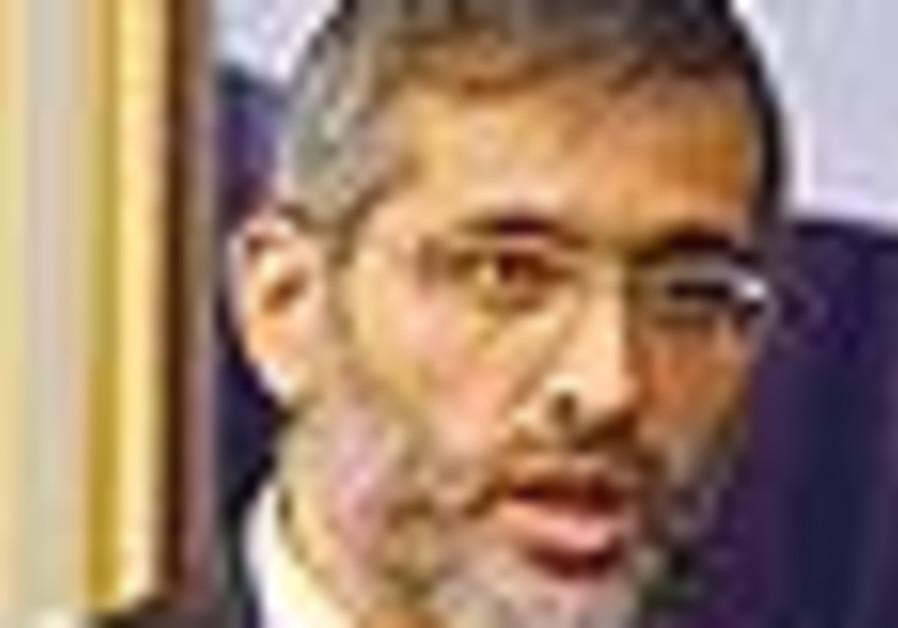 Shas head Eli Yishai