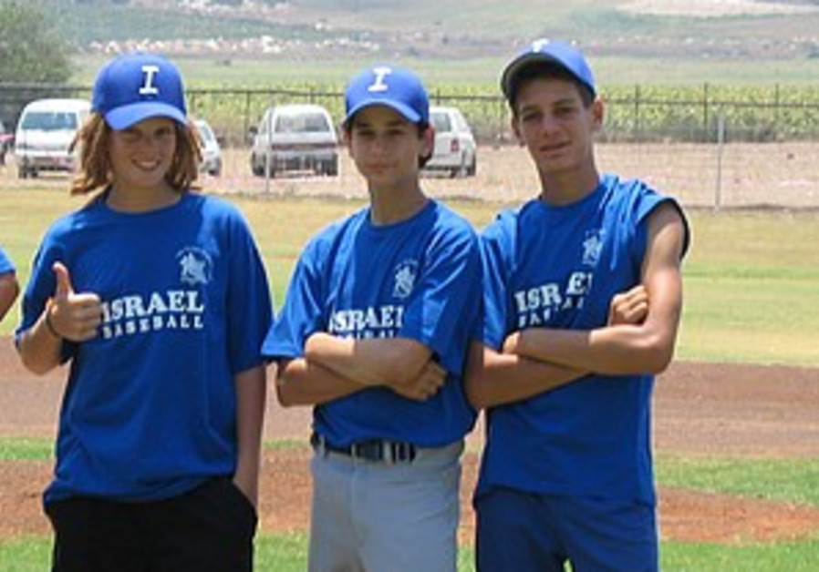 Baseball: Youth baseball unites Israeli youngsters