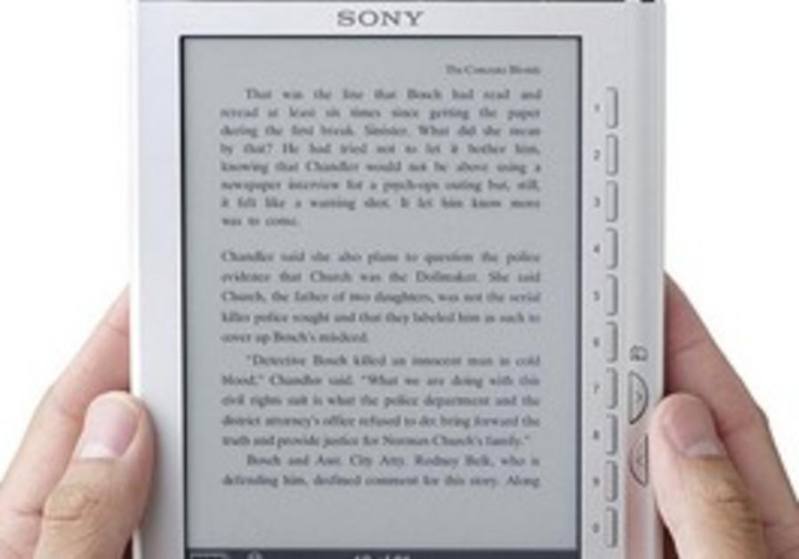 A Sony e-reader.