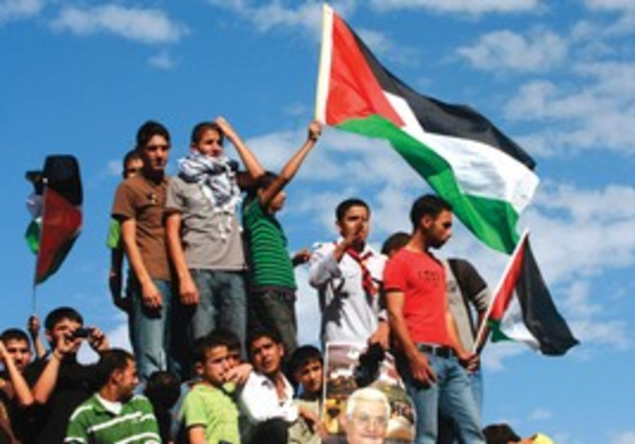 MENACING MINORITY: Under a one-state framework, the Palestinian minority could prove recalcitrant