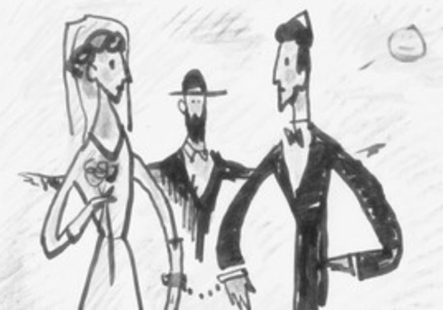 Marriage caricature