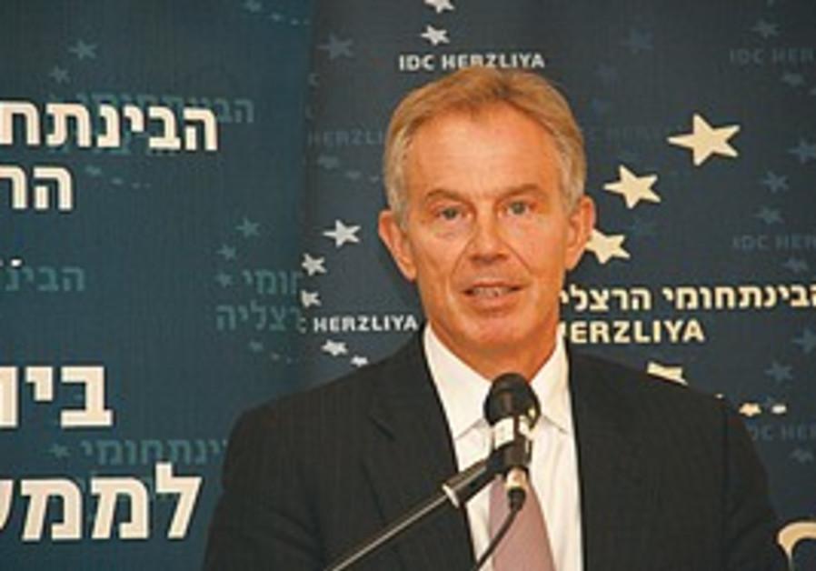 Quartet Envoy Tony Blair