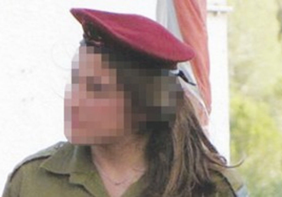 NOT IN KANSAS ANYMORE. Service in Israeli elite units requires soldiers' faces to be blurred for sec