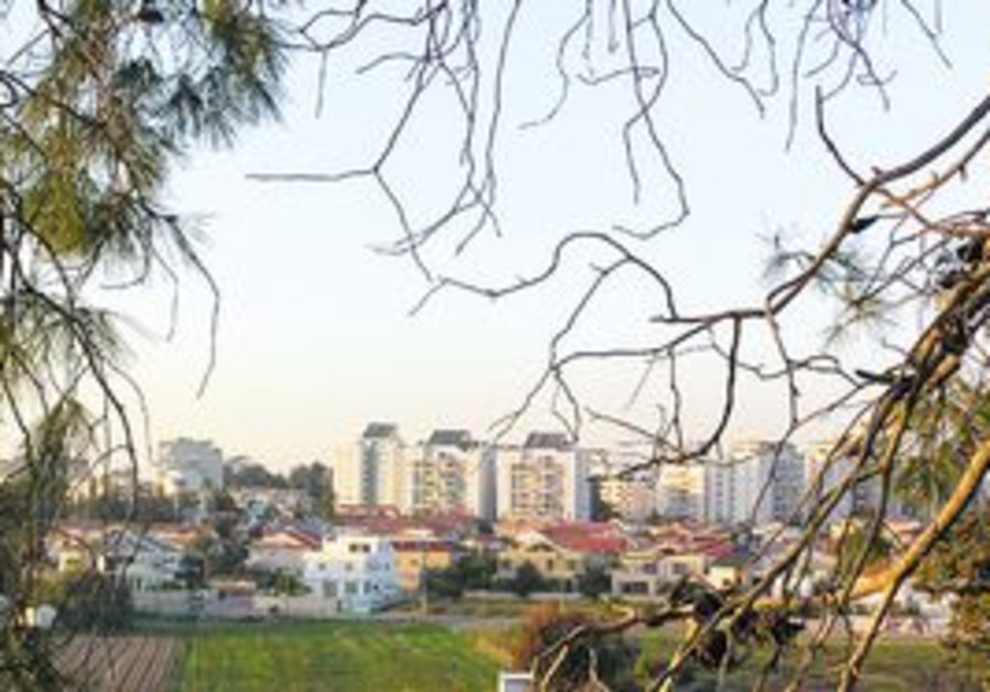 AN AVERAGE 100-square-meter apartment in Hod Hasharon costs around NIS 1.5 million