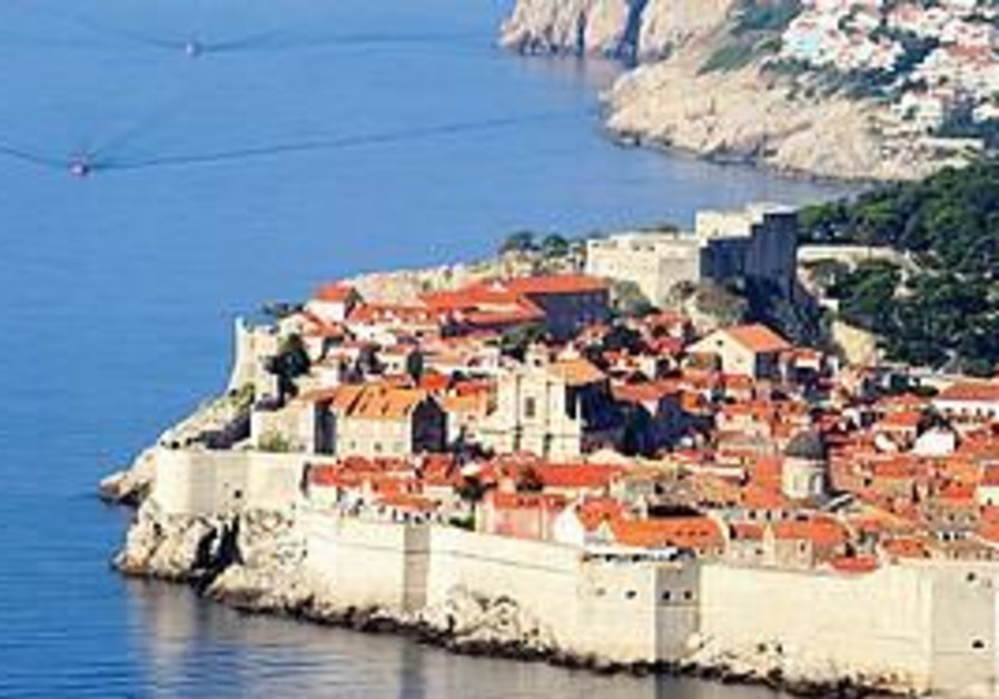 The coastal resort of Dubrovnik