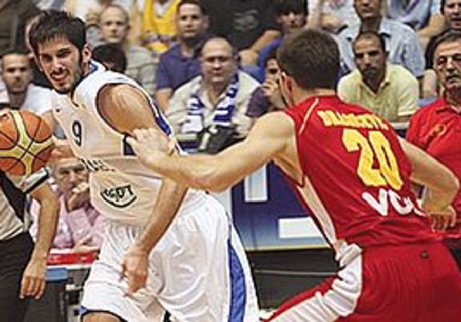 OMRI CASSPI turned in his best individual effort of the EuroBasket qualifiers when Israel last playe
