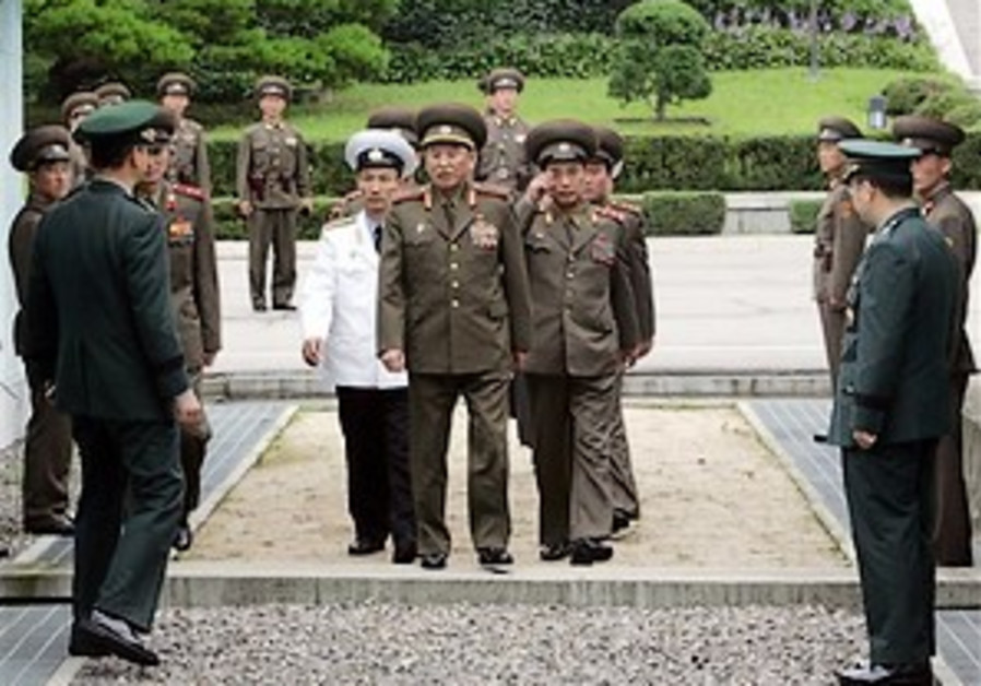 N. Korea storms out of military talks with South