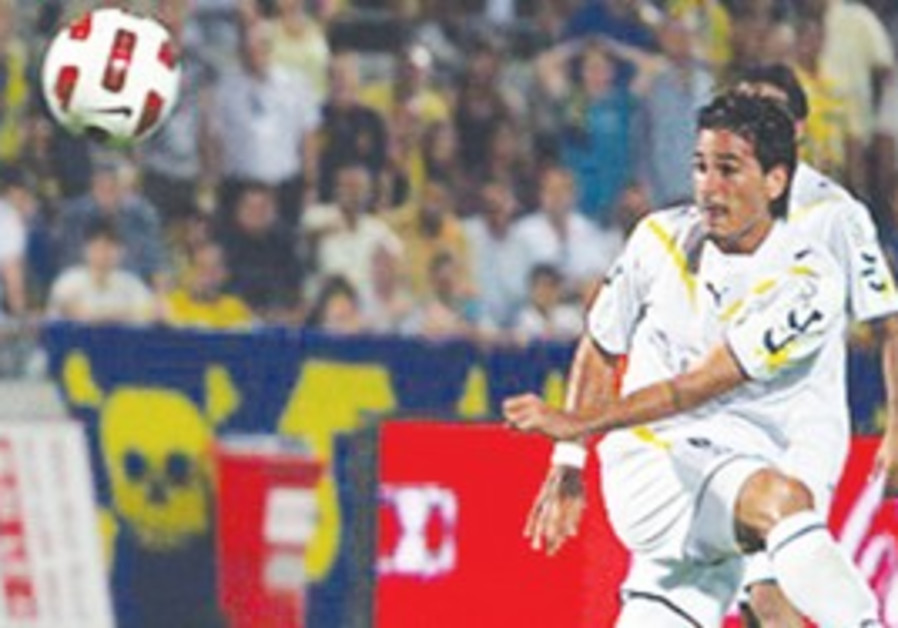 MAOR BUZGALO and Maccabi Tel Aviv made sure Betar fans left Teddy Stadium with frowns on their faces
