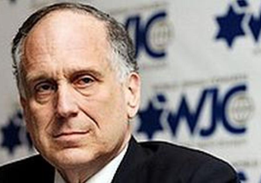WJC President Ronald Lauder