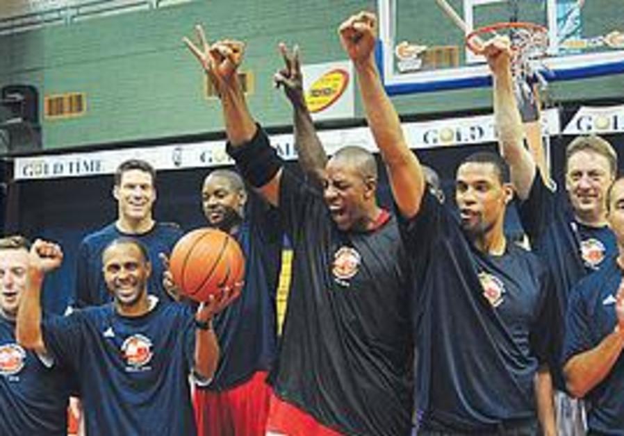 NBA players in Israel